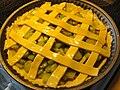 Rhubarb pie before, August 2009.jpg