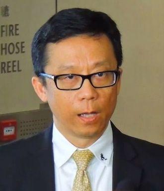 Ricky Wong (Hong Kong businessman) - Image: Ricky Wong 2014