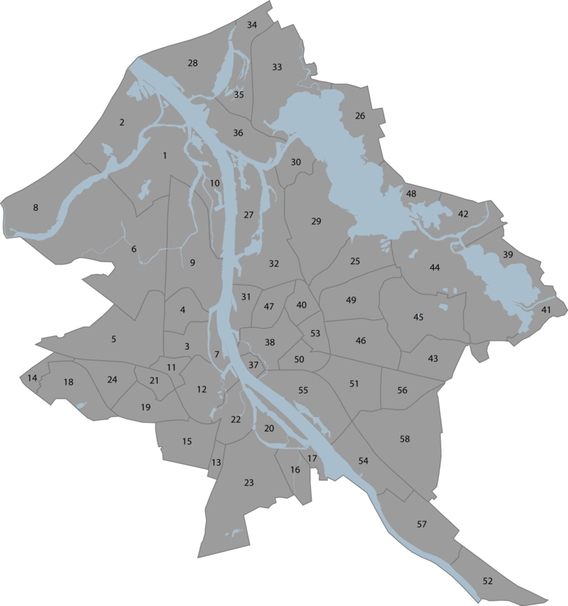 Neighbourhoods in Riga Wikipedia
