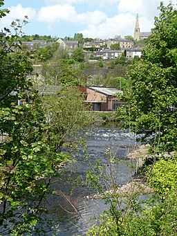 River Tame, Mossley - geograph.org.uk - 1880410