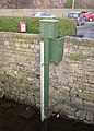 River depth gauge, Otley - geograph.org.uk - 696197.jpg