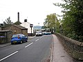 Road scene near Cononley station, Yorkshire - geograph.org.uk - 169360.jpg