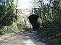 Road to Poole Keynes passes under the railway - geograph.org.uk - 1747372.jpg