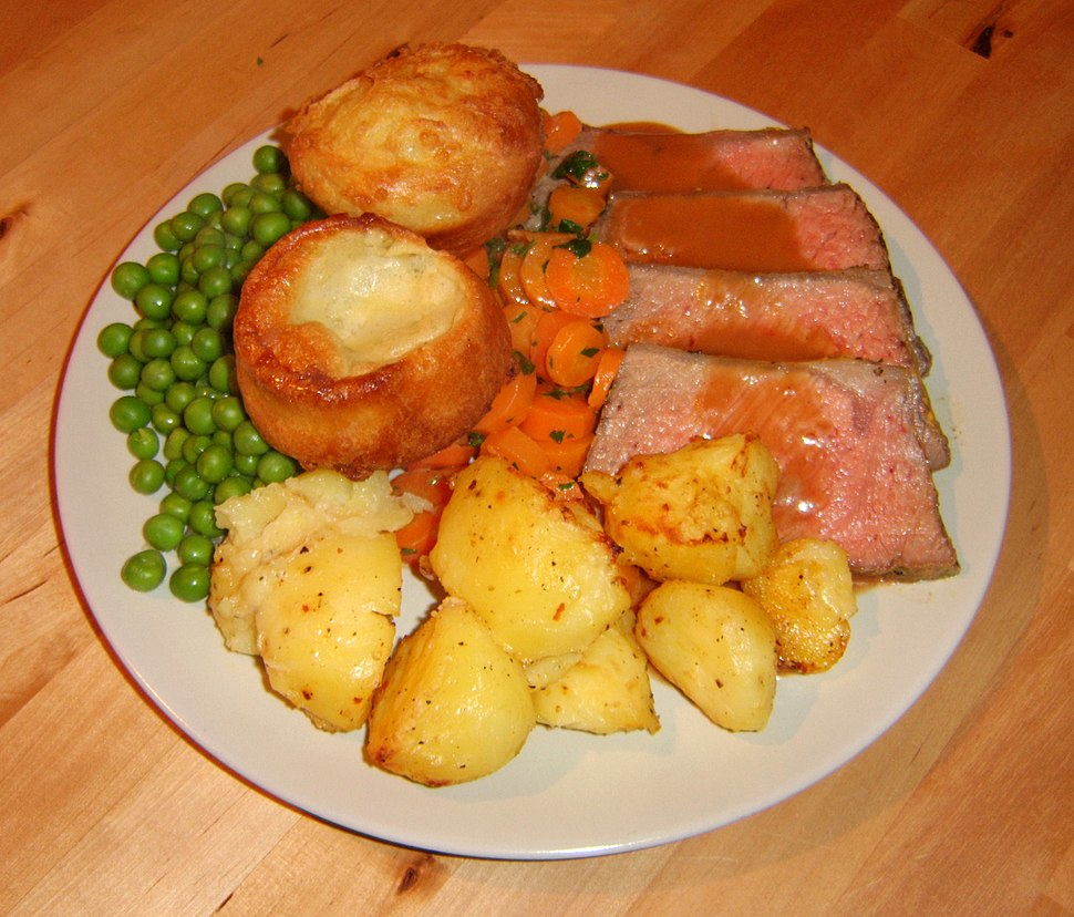 Roastbeef with yorkshire puddings