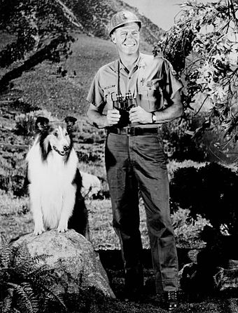 Lassie with Robert Bray as U.S. Forest Ranger Corey Stuart - United States Forest Service