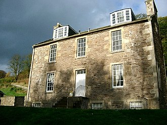 Robert Owen - Robert Owen's house in New Lanark, Scotland.