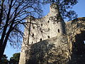 Rochester Castle Keep Drum Tower Southern Curtain Wall 0030.JPG