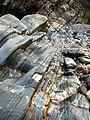 Rocks on beach, Glen Maye - geograph.org.uk - 773604.jpg