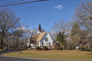 Providence Presbyterian Church of Bustleton - Image: Roebling NJ Providence Presbyterian Church Of Bustleton