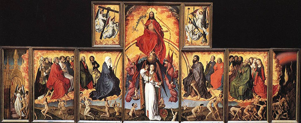 Rogier van der Weyden - The Last Judgment Polyptych - WGA25625