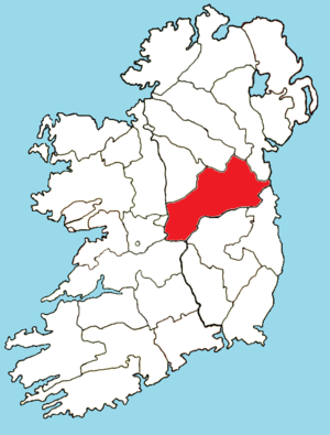 Roman Catholic Diocese of Meath - Image: Roman Catholic Diocese of Meath map