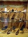 Roman shoes, Saalburgmuseum, Saalburg Roman Fort, Limes Germanicus, Germania (Germany) (7957372890).jpg