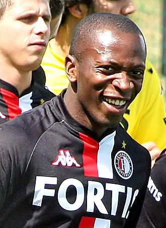 Romeo Castelen - Castelen in training with Feyenoord