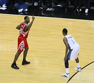 Metta World Peace - Artest playing for the Houston Rockets in the 2008–09 NBA season.