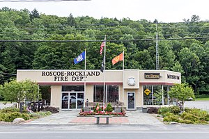 Roscoe, New York - Roscoe-Rockland Fire Department