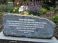 Rose Isle Garden, Belleek stone - geograph.org.uk - 885790.jpg