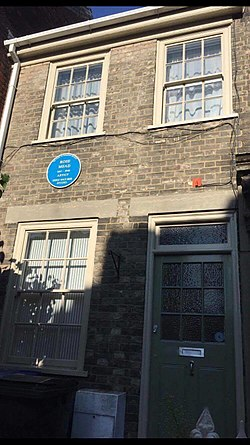 Photo of Rose Mead blue plaque