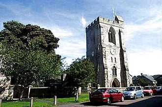 Rothbury - All Saints' Church incorporates materials from an ancient Anglo-Saxon place of worship.