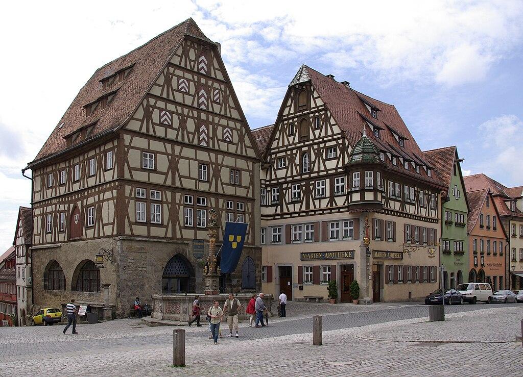 Rothenburg ob der Tauber Marktplatz 001