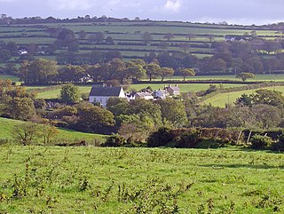 Glynarthen village in the United Kingdom