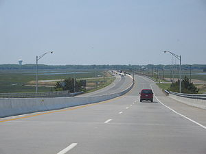 New Jersey Route 147 - Image: Route 147 WB