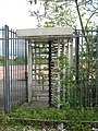 Rover East Works, Turnstile Still There - No Factory and Nature Taking Over - geograph.org.uk - 1291363.jpg