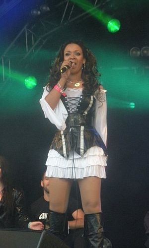 Rowetta - Rowetta performing at Manchester Pride 2010