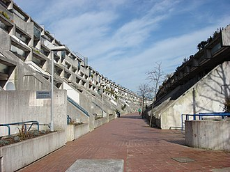Grade II* listed buildings in the London Borough of Camden - Image: Rowley Way Camden