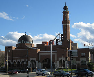 Roxbury, Boston - The first mosque in Roxbury was the Mosque for the Praising of Allah. Pictured here is the ISBCC Mosque.