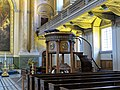 Royal Naval College Chapel pulpit, Greenwich Hospital 01.jpg