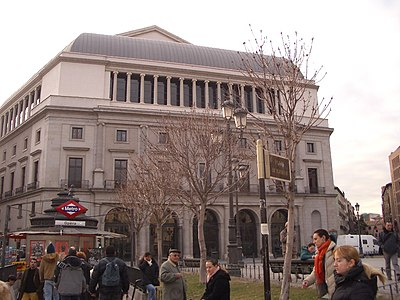 Teatro Real, Madrid