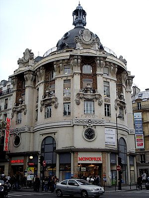 Monoprix - A Monoprix location, which is the former head office of the Félix Potin company, in Paris