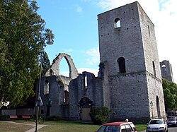 Ruines de l'église saint drotten