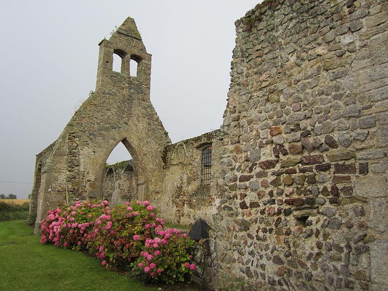Ruine de l'église de fr:Saint-Martin-le-Vieux (Manche)