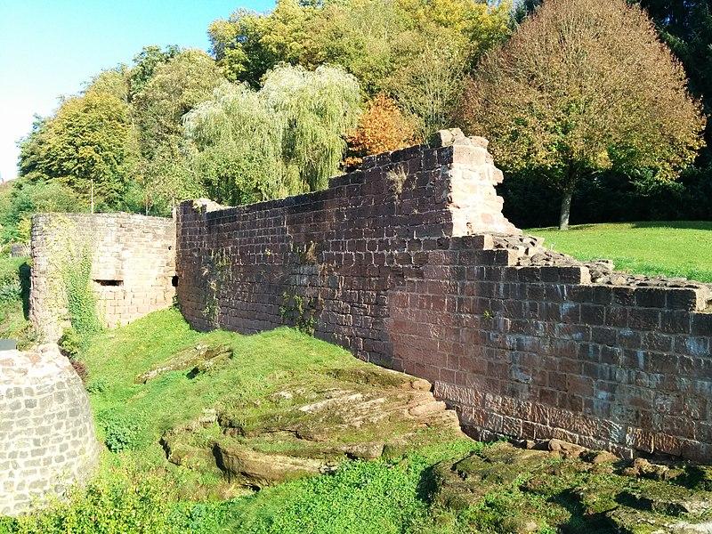 Ruines du château de Walschbronn