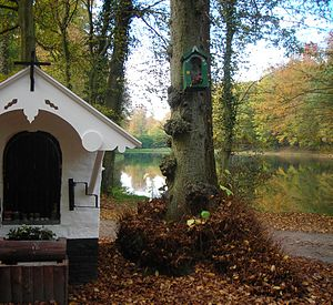 Sonian Forest - Small chapel in the Sonian Forest near the site of the monastery of John of Ruysbroeck at Groenendaal.