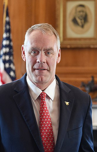United States Secretary of the Interior - Image: Ryan Zinke official portrait