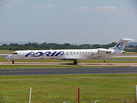 S5-AAK - CRJ9 - Adria Airways