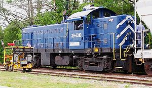 Road switcher - An ALCO RS-1, generally regarded as the first successful road switcher model.