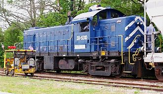 Road switcher - An ALCO RS-1, generally regarded as the first successful road switcher model