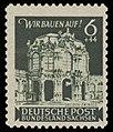 SBZ Ost-Sachsen 1946 64 Dresden, Zwinger.jpg