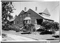 SOUTH FRONT AND WEST SIDE - Brown-Donahue House, Delano Park, Cape Elizabeth, Cumberland County, ME HABS ME,3-CAPEL,1-1.tif