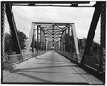 SOUTH PORTAL, SECOND SPAN. VIEW TO NORTH. - Delta Bridge, Spanning Gunnison River on U.S. 50, Delta, Delta County, CO HAER COLO,15-DELT,1-5.tif