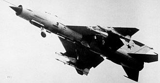 Delta wing - The MiG-21 fighter had a conventional tail