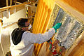 STS-133 thermal sensors and foam insulation removing.jpg