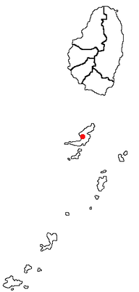 Port Elizabeth within Saint Vincent and the Grenadines