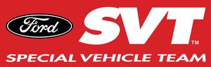 Special Vehicle Team - Image: SVT Logo wide