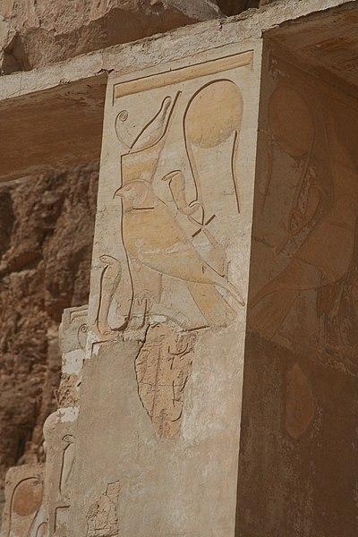 File:S F-E-CAMERON Hatshepsut Hawk.JPG