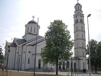 Bijeljina - Church in Bijeljina