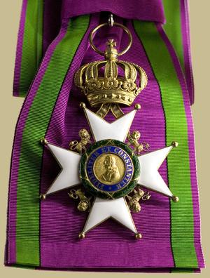 Saxe-Ernestine House Order - Image: Sachsen Ernestinischer Hausorden